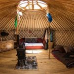 Why do some people love to buy & use yurts for camping?